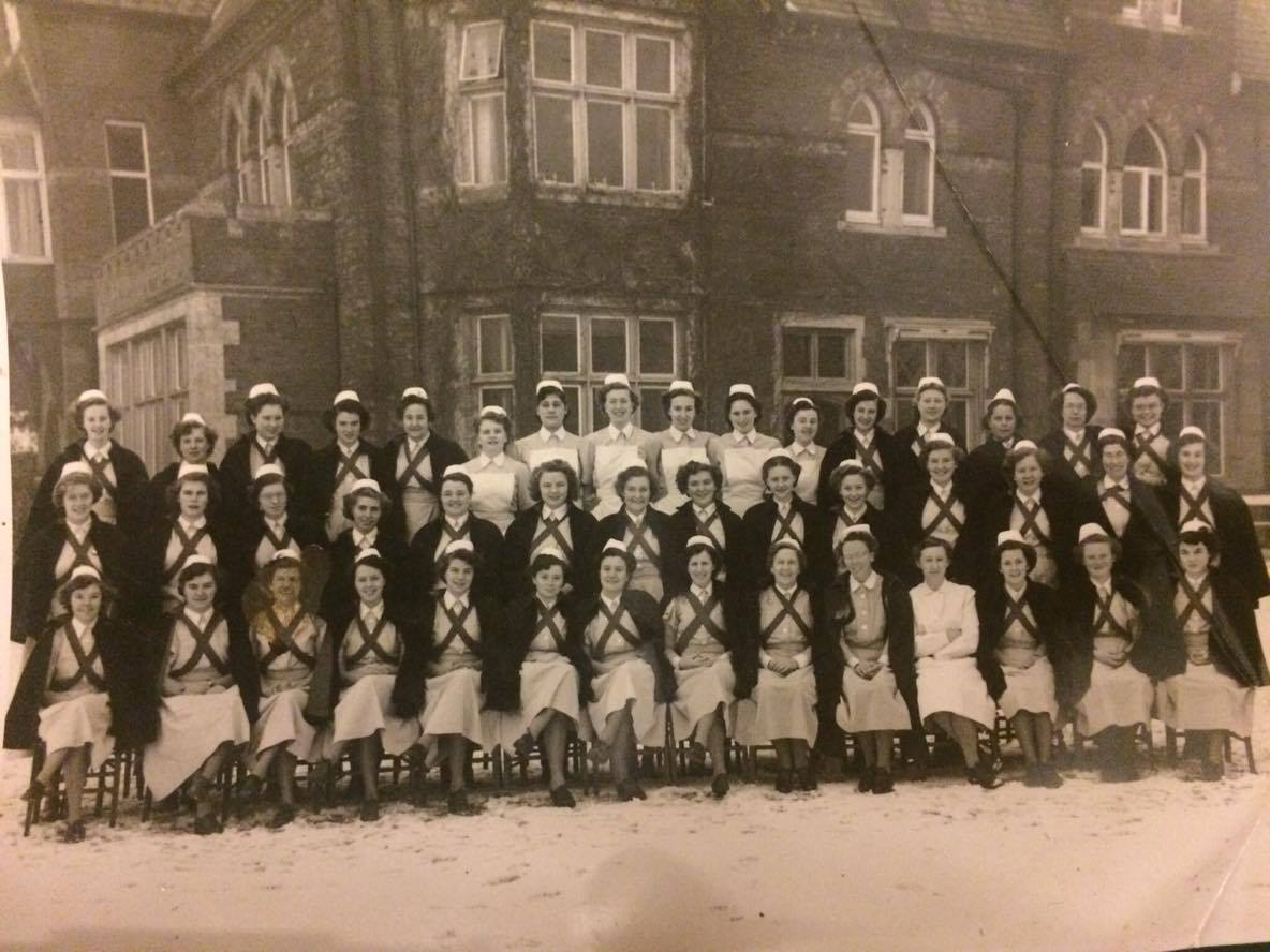 1950 Trueloves, Middle Nurses Mildmay (C) Anne Meneer